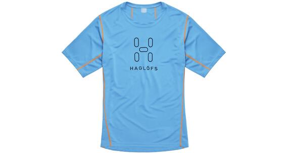 Haglöfs M's Intense Logo Tee BLUE AGATE